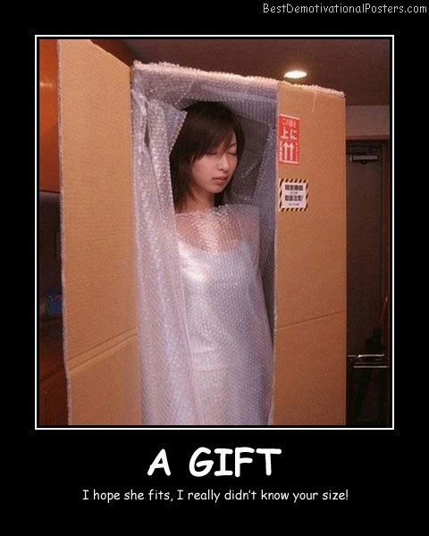 A Gift Best Demotivational Posters