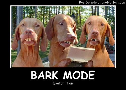 Bark Mode Best Demotivational Posters