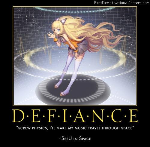 Defiance Anime