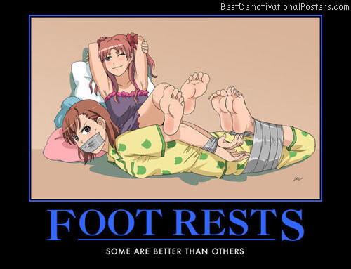 Foot Rests anime