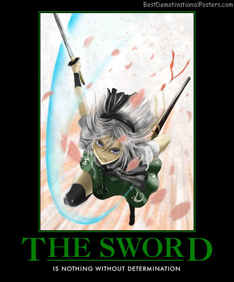 The Sword Determination anime