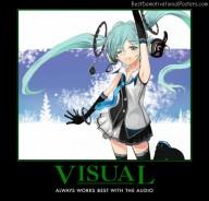 Visual And Audio anime