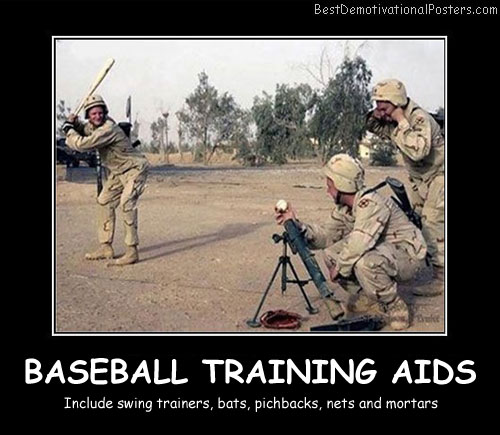 Baseball Training Aids Best Demotivational Posters