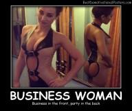 Business Woman Best Demotivational Posters