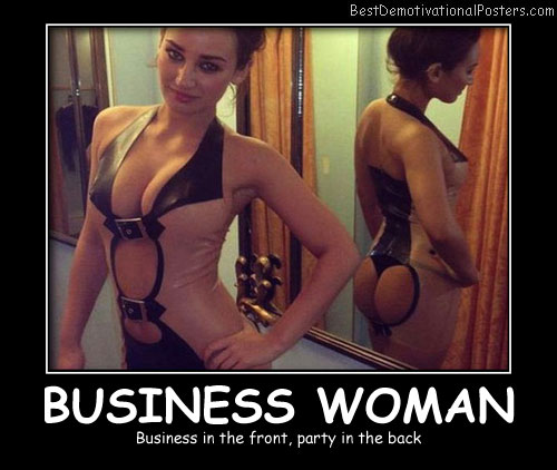 Business Woman Best Demotivational Posters