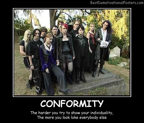 Conformity Best Demotivational Posters