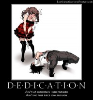 Dedication Ain't Enough anime