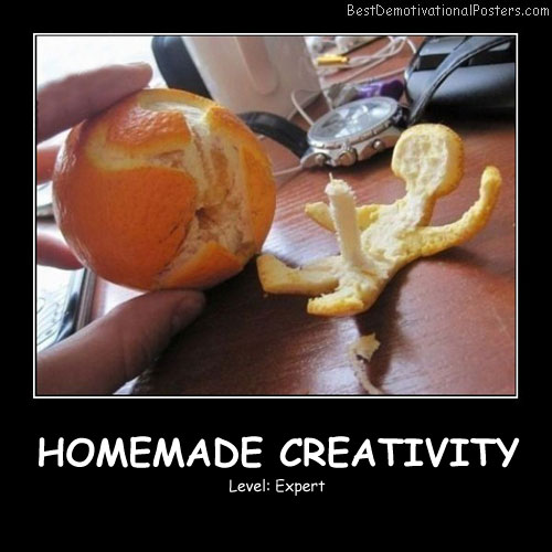 Homemade Creativity Best Demotivational Posters