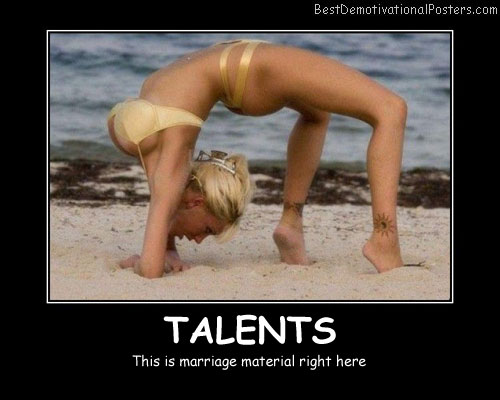Marriage Material Best Demotivational Posters