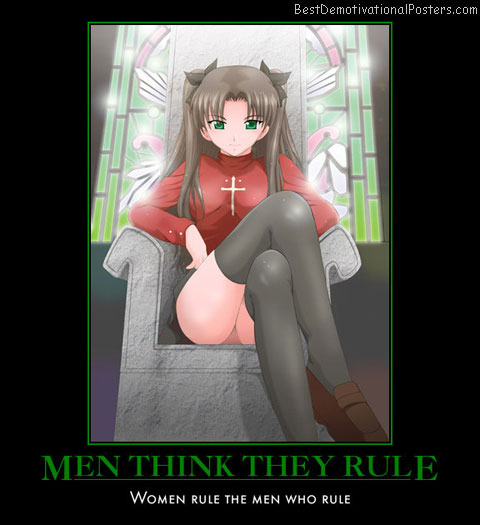 Men Think They Rule anime