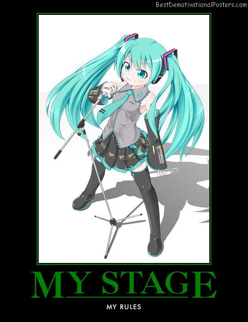 My Stage My Rules anime