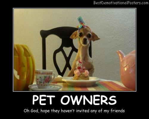 Pet Owners Best Demotivational Posters