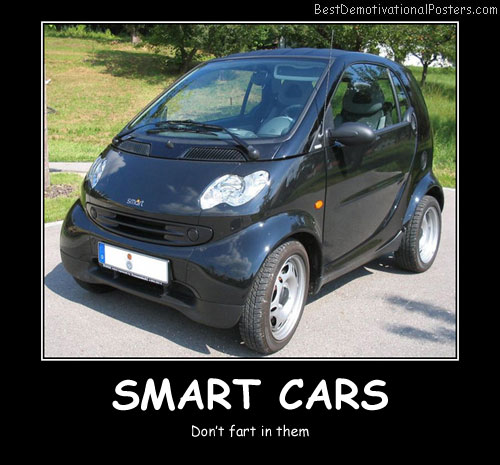 Smart Cars Best Demotivational Posters