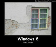 Windows 8 Best Demotivational Posters
