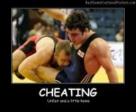 Cheating Unfair