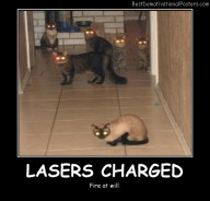 Lasers Charged