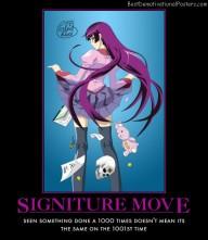 Signiture Move Anime