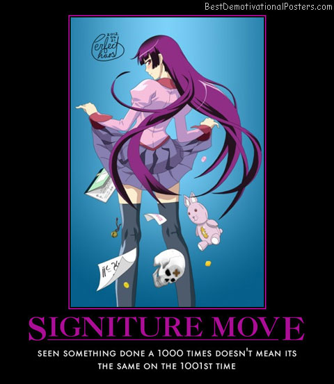 Signiture Move Anime