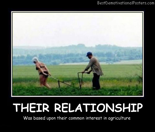 Their Relationship Best Demotivational Posters