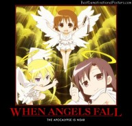 When Angels Fall anime