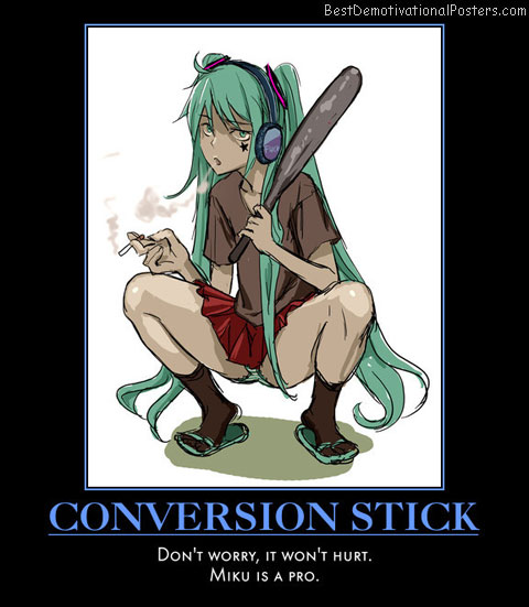 Conversion Stick anime