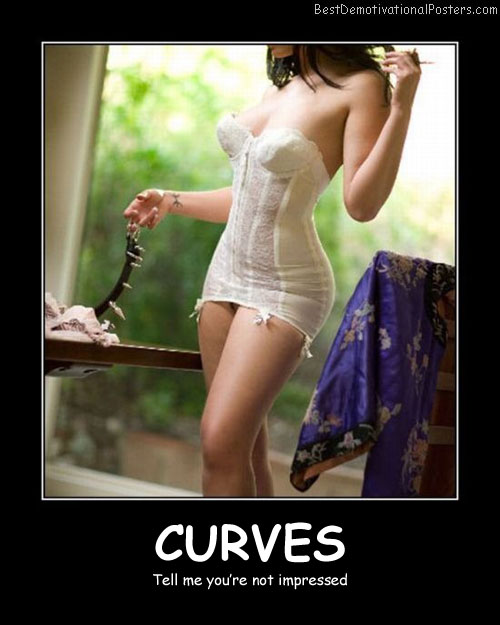 Curves Best Demotivational Posters