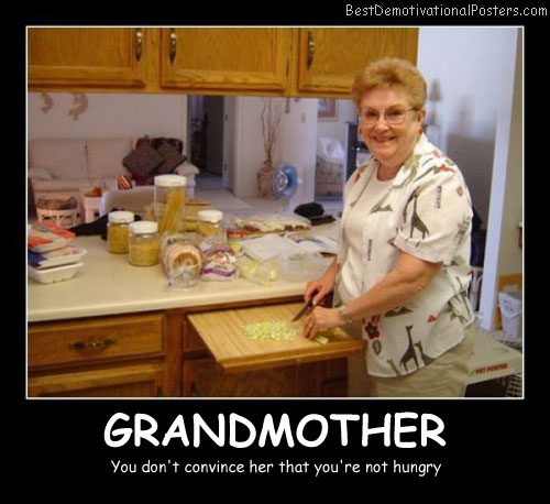 Grandmother Convince Best Demotivational Posters