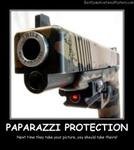 Paparazzi Protection Best Demotivational Posters