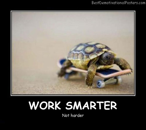 Work Smarter Best Demotivational Posters