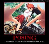 Anime Posing
