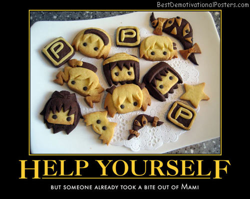 Help Yourself anime