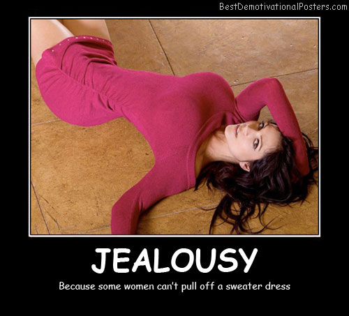 Jealousy Women Best Demotivational Posters