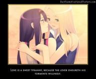 Love Is Sweet Tyranny
