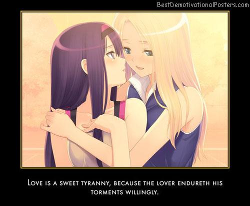Love Is Sweet Tyranny anime