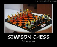 Simpson Chess Best Demotivational Posters