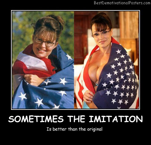 Sometimes The Imitation Best Demotivational Posters
