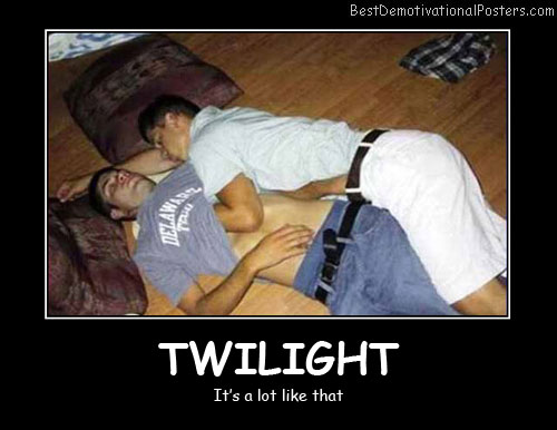 Twilight Best Demotivational Posters
