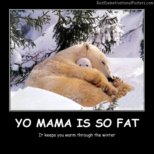 Yo Mama Is So Fat Best Demotivational Posters