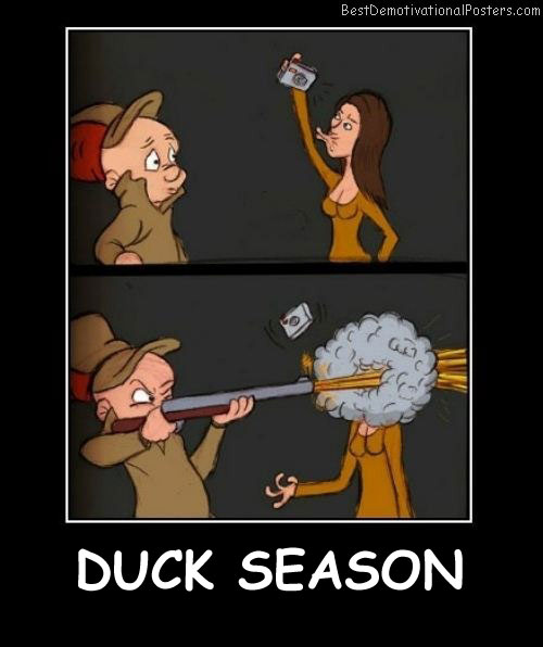 Duck Season Best Demotivational Posters