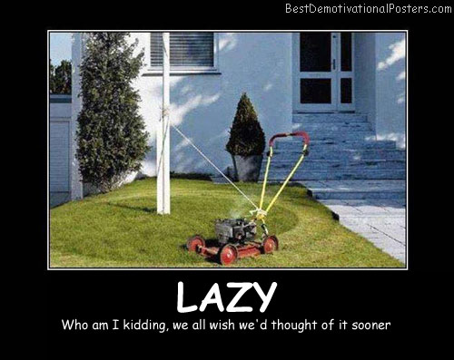 Lazy Best Demotivational Posters