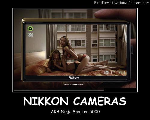 Nikkon Cameras Best Demotivational Posters