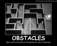 Obstacles In Labyrinth