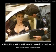 Officer Can't We Work Something Out