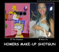 Homers Make-Up Shotgun