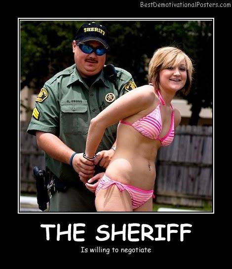 The Sheriff Best Demotivational Posters