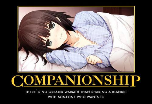 Companionship anime