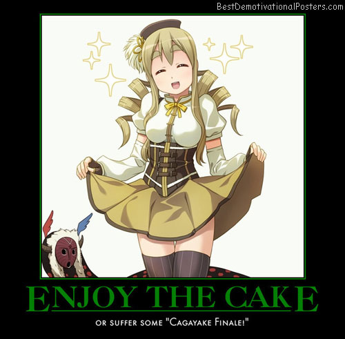 Enjoy The Cake anime