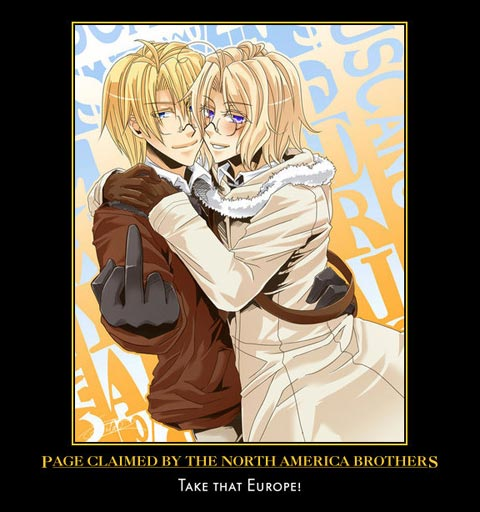 Page Claimed By The North America Brothers anime