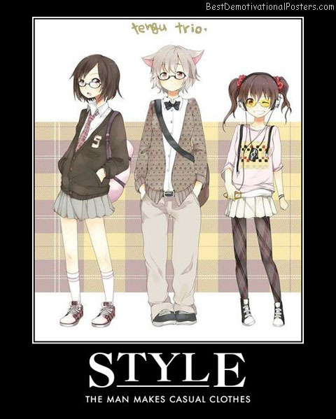 Style With Casual Clothes anime