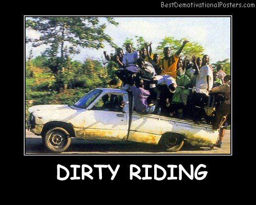 Dirty Riding Best Demotivational Posters